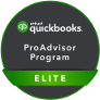 QuickBooks Elite ProAdvisor badge